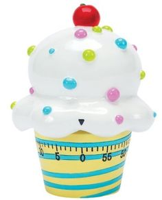 Very colorful ice cream cone kitchen timer Cool Kitchen Gadgets, Cool Kitchens, Kitchen Tools, Kitchen Things, Cute Kitchen, Awesome Kitchen, Vintage Kitchen, Colorful Ice Cream, Egg Timer
