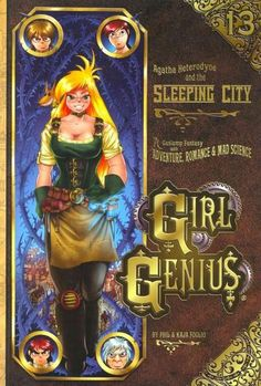 - Adventure, Romance, Mad Science! Agatha and her friends try to save her town from the vast armies of the Wulfenbach Empire.