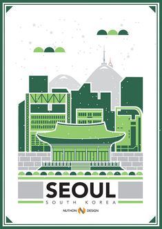City Illustrations by Nuthon Phengsathon