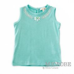 TOP WITH RHINESTONE NECKLACE. Sale 50% off Spring&Summer Collection!