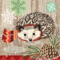 Woodland Hedgehog by Jennifer Brinley   Ruth Levison Design
