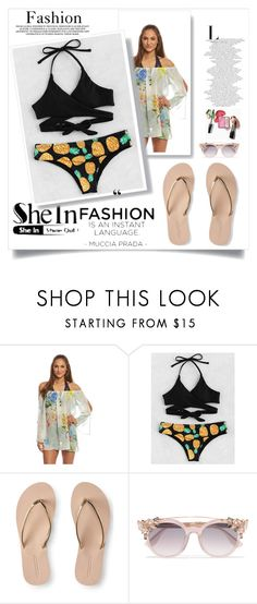 """""""Sheinside contest"""" by naruto-minato ❤ liked on Polyvore featuring Aéropostale and Jimmy Choo"""
