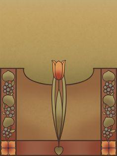 Tulip Art Poster | Bradbury & Bradbury