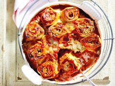 Pasta-Rolls mit Roten Linsen und Zucchini Rezept | LECKER