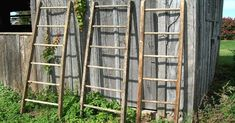 Completely Transform Your Home With These Beautiful Ladder Upcycles via LittleThings.com
