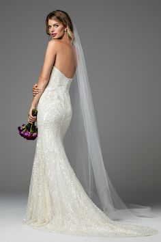 Designer: Wtoo Style: Nina. Available at Bliss Bridal in Wisconsin. www.blissbridalonline.com
