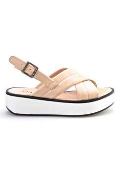 Cabani Dolgu Topuk Kadın Sandalet Pembe Deri https://modasto.com/cabani/kadin-ayakkabi/br2512ct13 #modasto #giyim