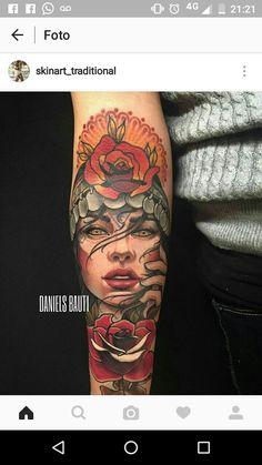 Traditional Tattoo Old School, Traditional Tattoo Flash, Arm Tattoo, Sleeve Tattoos, Tattoo Ink, Tattoos For Women, Tattoos For Guys, Geometric Tattoo Arm, Tattoo Ideas