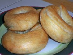 bread machine bagels - they are absolutely 100% DIVINE. I makes these all the time. Easy to make.
