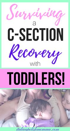C-section recovery! Recovering from a c-section with toddlers at home! postpartum tips after your c-section recovery. C Section Workout, C Section Recovery, Pregnancy Information, Postpartum Recovery, Postpartum Care, Before Baby, Baby Massage, Baby Hacks, Baby Tips