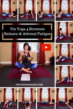Yin Yoga 4 Hormone Balance & Adrenal Fatigue - FREE practice guide and video practice