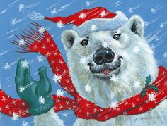 Winter Painting - Winter Really Is A Blast by Richard De Wolfe
