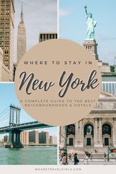 With so many different neighbourhoods and hotels to choose from, finding the right place to stay in New York can be a challenge so we are rounding up all the best areas to stay in New York. In this guide, we detail all the different neighbourhoods with pros and cons for each, plus hotels for every budget. #newyorkcity #nyctravel | best hotels in nyc | best hotels in new york city | nyc neighborhood guide | where to stay in NYC | where to stay in new york city | best neighborhoods in nyc Travel Advice, Travel Plan, Travel Tips, Travel Destinations, New York Neighborhoods, Williamsburg Bridge, London Guide, Washington Square Park, Great Hotel