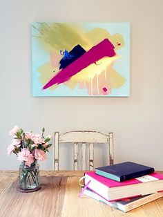 ARTWORK really is the finishing touch to your home interior but it can be an expensive exercise. SARAH ALBRECHT shows us how to create our own masterpiece