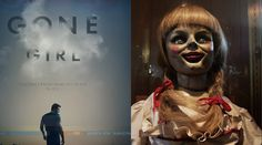 Gone Girl and Annabelle fight for box office glory, and I am happy that the new Fincher flick with Batman himself has won with Fincher high $38 million. Ann
