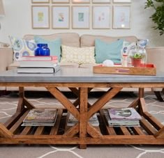 20 Chic Ways to Freshen Up Your Coffee Table via Brit   Co