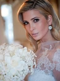A pale pink lip is an angelic look on your big day. Pair it with dark eyes and light blush like Ivanka and you too can look like a million bucks :)