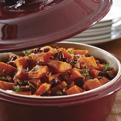 Autumn Sweet Potatoes - The Pampered Chef® http://www.pamperedchef.com/pws/aimeewoodley/recipe/Side+Dishes/Autumn+Sweet+Potatoes/587000