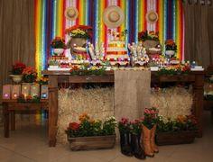 mesa decorada festa junina.10