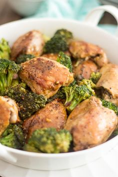 Quick and Easy Broccoli Chicken
