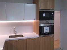 cocina integrada,piso,intxaurrondo,san sebastian