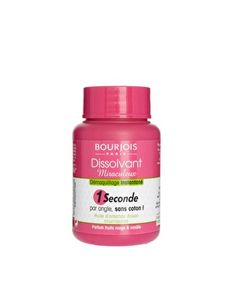 Bourjois Magic Nail Polish Remover removes polish in one second.