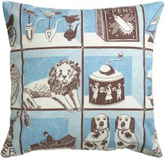 pillow by Emily Sutton