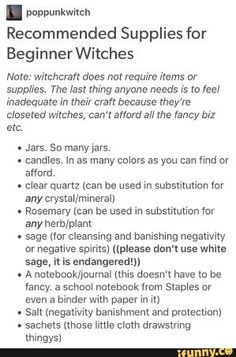 Magick 87762 Witchy Tips & More: For Baby Witches & Broom Closet Dwellers - Baby Witches - Wattpad