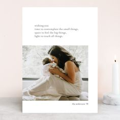 """""""Simple Message"""" - Holiday Photo Cards in Dove by Seven Swans. All Things Christmas, Christmas Cards, Birthday Party Invitations, Wedding Invitations, Seven Swans, Personalized Stationery, Holiday Photo Cards, Thank You Cards, One Shoulder Wedding Dress"""