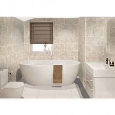 Beige Bathroom Wall Tiles - Beige Bathroom Wall Tiles Detect the hidden blush in a biscuit asphalt attic back introducing added tiles into your Wickes Bathroom Tiles, Bath Tiles, Beige Bathroom, Ceramic Floor Tiles, Bathroom Colors, Modern Bathroom, Tile Floor, Bathroom Faucets, Bathroom Ideas