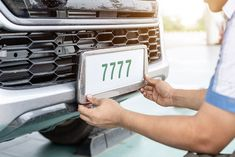 How, precisely, number plates came into being. These number plates are assigned to vehicles rather than their owners so they tend to stay with the car.
