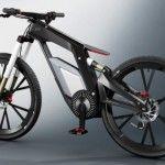 E-Tron Spyder Bike designed by Audi