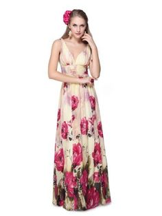 Ever Pretty Sexy Double V-neck Floral Printed Chiffon Long Formal Dress 09638, HE09638HP08, Multiple(hot pink), 6US Ever-Pretty,http://www.amazon.com/dp/B0072QV4ZK/ref=cm_sw_r_pi_dp_3.Jtrb0EE7YSCD9B