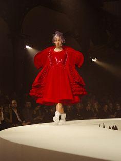 Comme des Garçons SS17 PFW womenswear Dazed