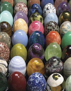 Gemological Institute of America's Egg-stravaganza, all carved by Dieter Jerusalem