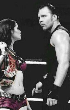 Ambraige, so cute WWE Paige & Dean Ambrose Page Wwe, Jonathan Lee, Wwe Womens, Dean Ambrose, Wrestling, Roman, Concert, Lady, Wwe Stuff