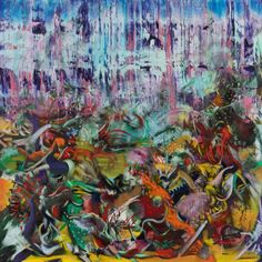 Ali Banisadr. Say my Name (2013). Oil on Linen, 24x24 inches