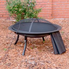 Outdoor Fireplaces & Firepits - Portable Steel Camping Fire Pit with Carrying Case – Oxeme Home