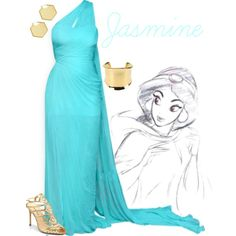 """Jasmine"" by alyssa-eatinger on Polyvore"