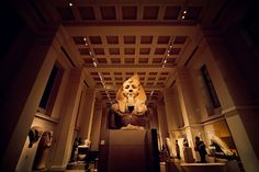 https://flic.kr/p/9hsYWx   Egyptian Statue: Ramesses II, British Museum, London   1/60 at f/3.2, ISO 1250.  With Egypt on everyone's mind today, I thought I'd post an image of Ramsses II watching over a wing of the British museum.  I've always found Egyptian art quite spooky/creepy. Maybe it was the mummified cats... but there was some kinda strange juju emanating from that room... I had to power walk through it to stop the hairs on the back of my neck from standing up...  i still kinda…