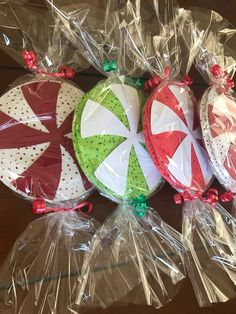 Big Peppermint Candy Decorations set of image 4 Whoville Christmas Decorations, Gingerbread Christmas Decor, Candy Land Christmas, Candy Decorations, Christmas Crafts For Kids, Christmas Fun, Gingerbread Men, Outdoor Christmas, Ideas Decoracion Navidad
