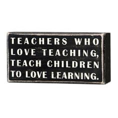 Every educator should live by this.