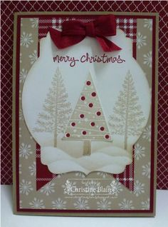 Festival of Trees, Trim the Tree Paper Stack Stampin' Up!