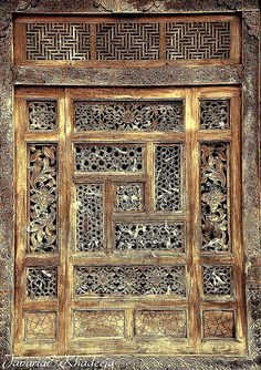 A masterly wood carved window. Photo by Javaria & Khadeeja