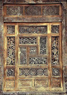 A masterly wood carved window. Photo by Javaria & Khadeeja