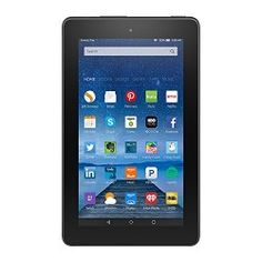 Fire, 7″ Display, Wi-Fi, 8 GB – Includes Special Offers, Black
