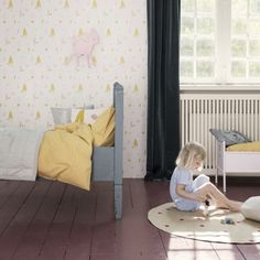 Forest Wallpaper Ferm Living Kids Children- A large selection of Design on Smallable, the Family Concept Store - More than 600 brands.