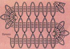 Learn How to Crochet Bruges Lace Crochet Diagram, Crochet Chart, Crochet Motif, Crochet Doilies, Crochet Diy, Learn To Crochet, Irish Crochet, Crochet Stitches Patterns, Lace Patterns
