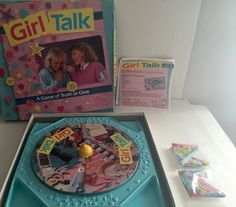Vintage Girl Talk Game by Golden 1988 Edition No Zits Free Shipping | eBay