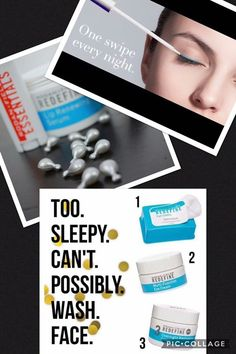 It has been a rough last few months with sick kids that have lead to a lot of late nights and very little sleep. These 6 products have been a lifesaver on helping protect me my skin from aging by not washing my face. I would wake up loving my skin, my longer lashes and my kissable lips and ready to tackle the day. ❤️❤️❤  Do you need a quick night time regimen?